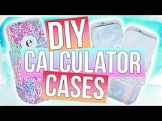 DIY Calculator Cases: Back to School! - YouTube