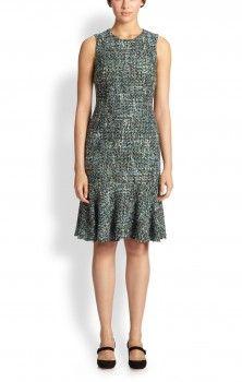 Dolce & Gabbana Tweed Drop-Waist Dress worn by Annalise Keating on How to Get Away With Murder. Shop it: http://www.pradux.com/dolce-gabbana-tweed-drop-waist-dress-35962?q=s79