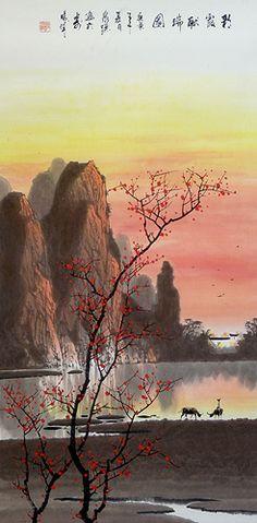 Sunset by Chen Chun