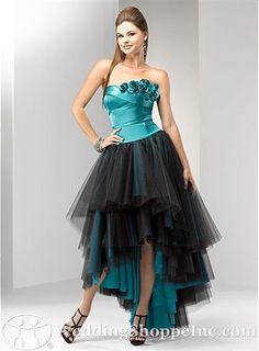 rocker prom dresses | Purple Wedding | Pinterest | Prom dresses ...