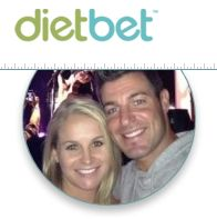 Jeff and Jordan are the new spokes-couple for Dietbet.com