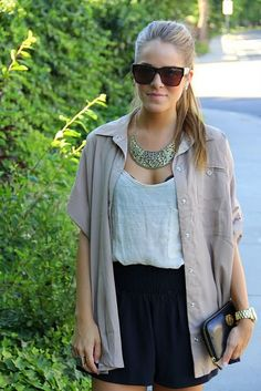 Wish I could dress this casually and look this good