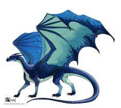 Lerrir Ier 2 by Azany on DeviantArt Fantasy Dragon, Dragon Art, Fantasy Art, Magical Creatures, Fantasy Creatures, Reptiles, Got Dragons, Furry Pics, Fantasy Beasts