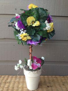 Handmade Artificial Floral Arrangement by KsHandmadeFlorals, $35.00
