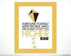 KAO Kappa Alpha Theta Lift You Higher Sorority by BoutiqueGreek