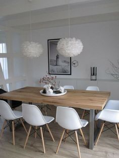 Mid century Scandinavian dining furniture