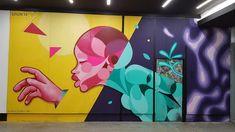 """Muro Concreto para el """"Proyecto de Arte Callejero de Madrid"""" - Apoyo al Arte Callejero Apoyo al Arte Callejero"""