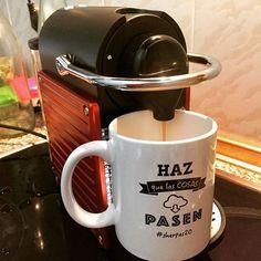 Estrenando cafetera con taza motivadora! ☕️ #sherpas20 #hazquelascosaspasen #coffee #cafe #desayuno