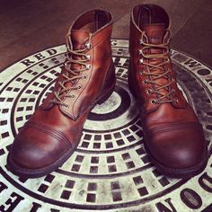 Red Wing Iron Ranger 8112 boots