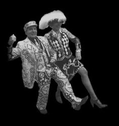 Pearly King and Queen #London #Pearly #Kings #Queens