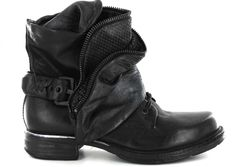 Airstep - AS.98 717253 Noir, Bottines / Boots | Carré Pointu