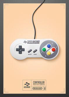 Nintendo Cafe : SNES Controller