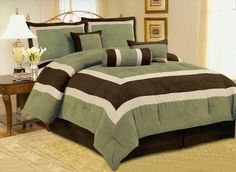 High Quality Soft Micro Suede Comforter Set Bedding-in-a-bag, Sage Green - Queen AHF,http://www.amazon.com/dp/B004ARZY64/ref=cm_sw_r_pi_dp_lTe1sb0AZB46Y7ZH