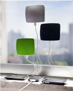FOR JACOB AND SARAH CLING BLING Window Solar Charger for Smart Phones and more.