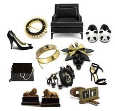 Home Theater by patack on Polyvore featuring Forever 21, Alexandre Birman, Chloé, Kate Spade, vintage, shoes, jewelry, accessories and Borghese