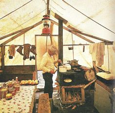 Old school glamping