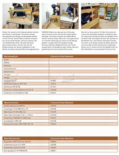 #1943 Study Desk Plans - Furniture Plans
