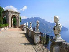 Terrazzo dell'Infinito - Villa Cimbrone, Ravello
