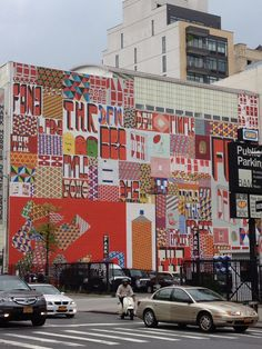Barry McGee (aka Twist, Ray Fong, etc...) mural in Brooklyn