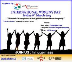 Women's day organized by www.niyateefoundation.org