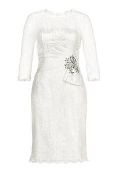 Cocktailkleid / festliches Kleid - creme