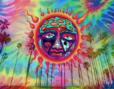 gif trippy colors Sublime psychadellic a-little-bitter Sublime With Rome, Sublime Sun, Tumblr Hipster, Hippie Love, Hippie Art, Hippie Vibes, Bart Simpson, Trippy Pictures, Trippy Gif