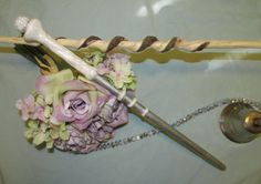 Harry Potter Wand for Girls. Costume Magic Wand by WhitehillCanes, $19.00