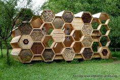 Ambiance-Jardin: Archi 20 - Hotel à abeilles - Bienen Hotel