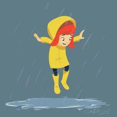 12 principal of Animation Cartoon Kunst, Cartoon Memes, Cartoon Drawings, Cartoon Art, Cartoon Characters, Rain Cartoon, Rain Animation, Animation Storyboard, Animation Reference