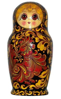 Firebird. Matryoshka Nesting Doll. http://www.pinterest.com/MatryoshkasSoap/one-of-a-kind-matryoshka/