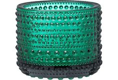 Iittala Kastehelmi kynttilälyhty 64 mm, smaragdi - Prisma verkkokauppa