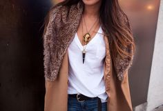 Stacking necklaces. I always love her stuff.