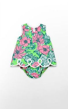 Lilly Pulitzer - Baby. I'm literally obsessed, Emma Kate would look too precious in this.