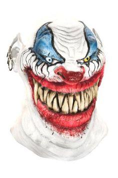 Foam Latex Mask, Deluxe Chopper The Clown