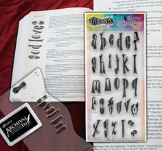 Dylusions Clear Stamp Collection - Clearly Alpha