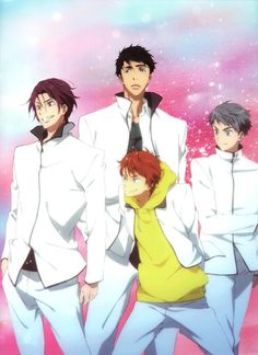 [Official Art] Free! Eternal Summer | They look badass to me