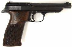 Walther Olympia .22 LR caliber pistol. 1936 Olympia Jaegerschafts model .