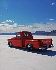 Low Chevrolet Truck #Salt