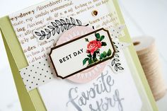 Peek at my Craftsy.com class called Cards With Dimension: Lovely Layers, Textures and Embellishments.