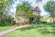"""The agent described this gorgeous home as """"the crown jewel of Concord, NC's historic district."""" What a privilege to produce the marketing for it! #realestate #photography #Concord #Charlotte #historic #homes"""