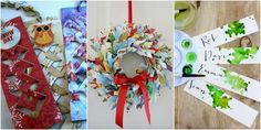 Upcycled Crafts Christmas Fun - 7 creative ways to upcycle old Christmas cards. Boxed Christmas Cards, Mini Christmas Tree, Christmas Gift Box, Christmas Greeting Cards, Christmas Greetings, Christmas Themes, Christmas Wreaths, Christmas Crafts, Christmas Decorations