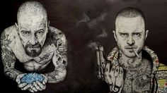 Breaking Bad, badasses! Walt & Jesse♡