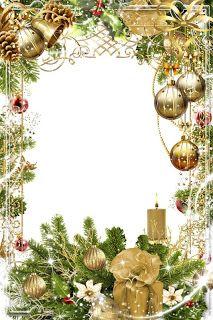 GIFY I OBRAZKI: RAMKI RÓŻNE Christmas Frames, Christmas Pictures, Christmas Art, Christmas Greetings, Christmas And New Year, Vintage Christmas, Envelopes Decorados, Free Christmas Borders, Picture Borders