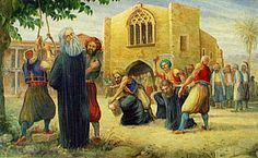 The execution of Archbishop Kyprianos of Cyprus