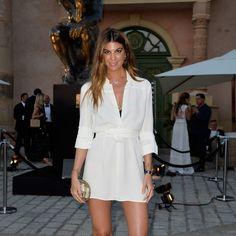 The Leonardo DiCaprio Foundation held its annual fundraising gala in glamorous St Tropez Nice Dresses, Casual Dresses, Fashion Dresses, Leonardo Dicaprio, Saint Tropez, Vanity Fair, Irina Shayk, Street Style, Vogue Fashion