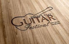 Logo design for Nevada City guitar festival