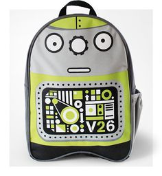 Stuf Robot Backpack for Preschoolers | Cool Mom Picks Back to School Guide 2014