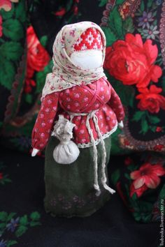 Народные куклы ручной работы. Ярмарка Мастеров - ручная работа Столбушка-Берегиня. Handmade.