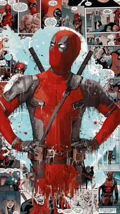 Marvel Deadpool wallpaper - - Marvel Deadpool wallpaper W A L L P A P E R S Marvel Deadpool wallYou can find Deadpool and more on our website. Deadpool Kawaii, Deadpool Art, Deadpool Movie, Deadpool Tattoo, Deadpool Funny, Deadpool Quotes, Deadpool Costume, Lady Deadpool, Deadpool Painting
