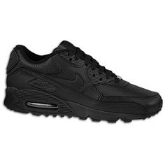 I have an addiction to all black shoes and classic styles. Remind's me when I had to work for a week at the GAP in my PT job to buy a pair of sneaks. How many hours at $6.85/hr does it take to pay off a pair of shoes that costs $120 + tax? #firstworldsweatshop. Nike Air Max 90 LE's.